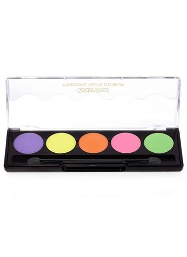Golden Rose En  Professıonal Palette Eyeshadow No:107 Renkli